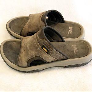 Teva leather waterproof sandals 7